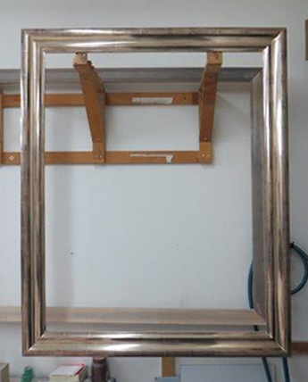 Gilded Frame Without Finish