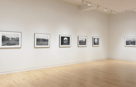 Gregory Crewdson Exhibition at Gagosian Gallery Six Photos on Left Wall