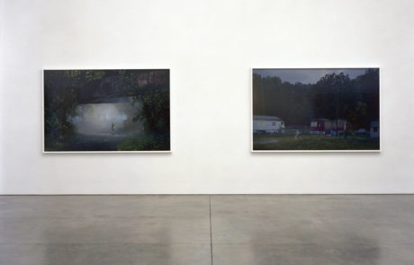 Gregory Crewdson Exhibition at Gagosian Two Large Works of Art
