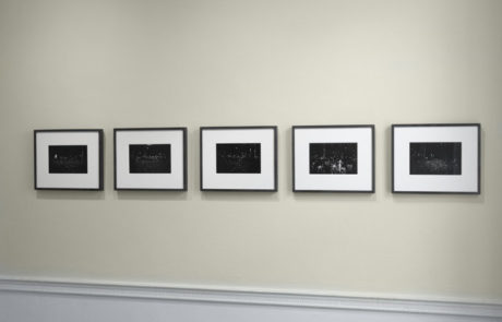 Gregory Crewdson Exhibition at Wave Hill Five Black and White Photographs in a Row