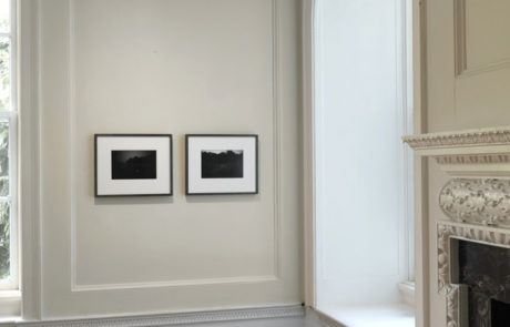 Gregory Crewdson Exhibition at Wave Hill Two Black and White Photographs