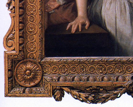 Example of Guilloche Used in Frame Border