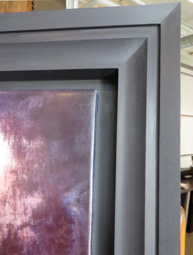 Stephen Hannock Painting Frame Corner Detail