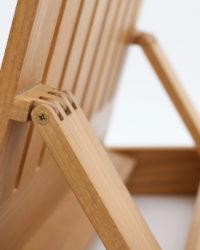 Hinge Detail of Table Easel
