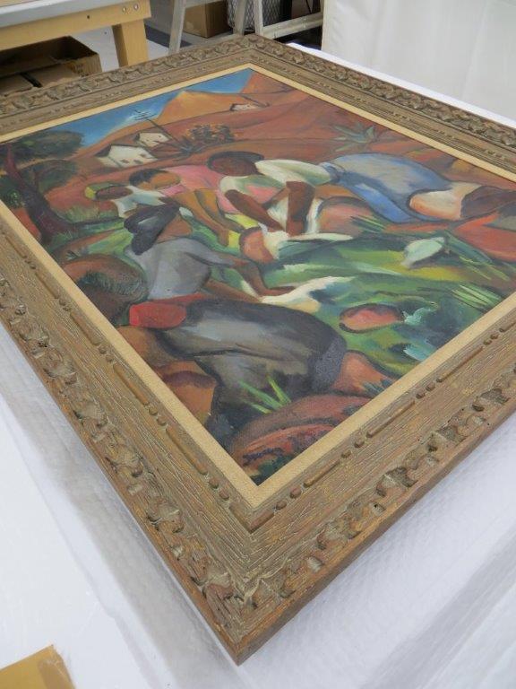 Irma Stern Painting in Original Frame