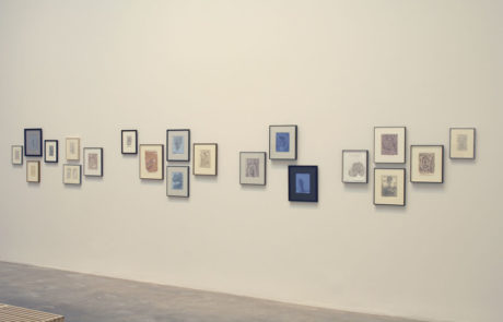 Four Groups of Artworks in Various Frames by James Siena