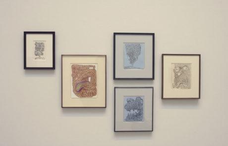 Five Artworks by James Siena