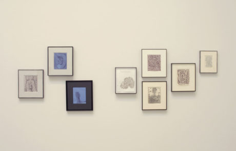 Two Groups of Framed Artwork by James Siena
