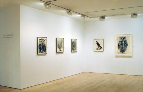 Jean Pagliuso Exhibition Entrance at Marlborough Gallery