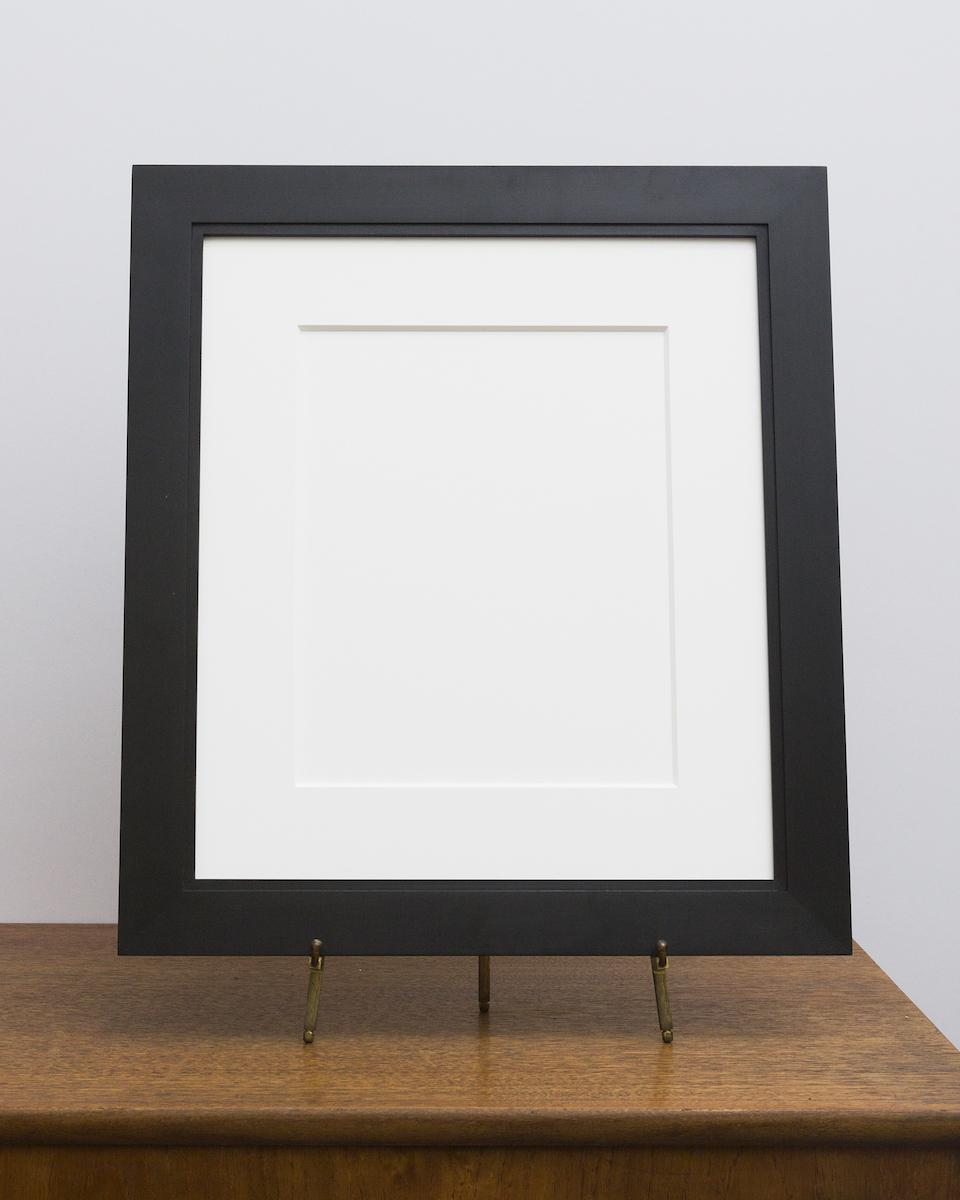 Manhassat Frame with Black Stain