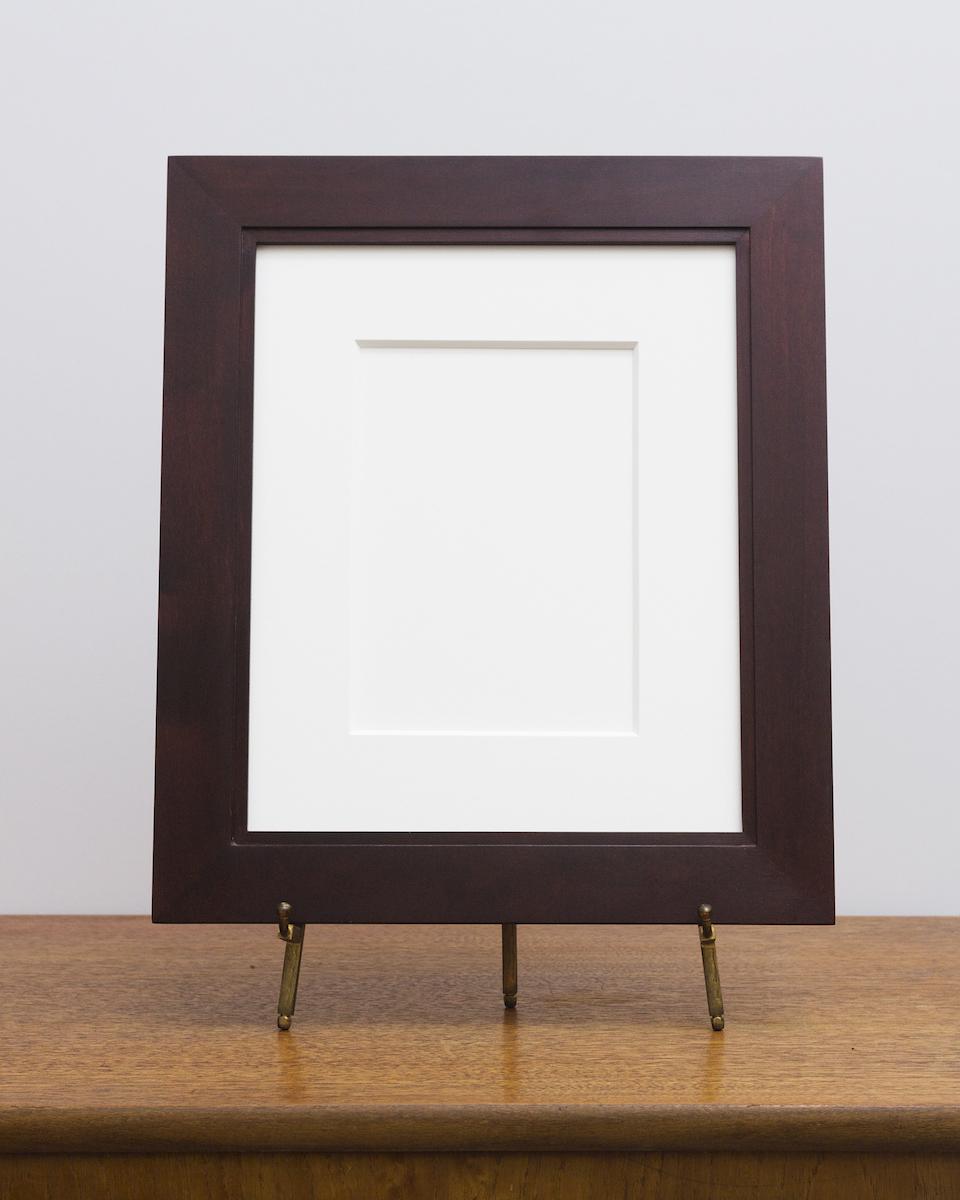 Manhassat Frame with Umber Stain