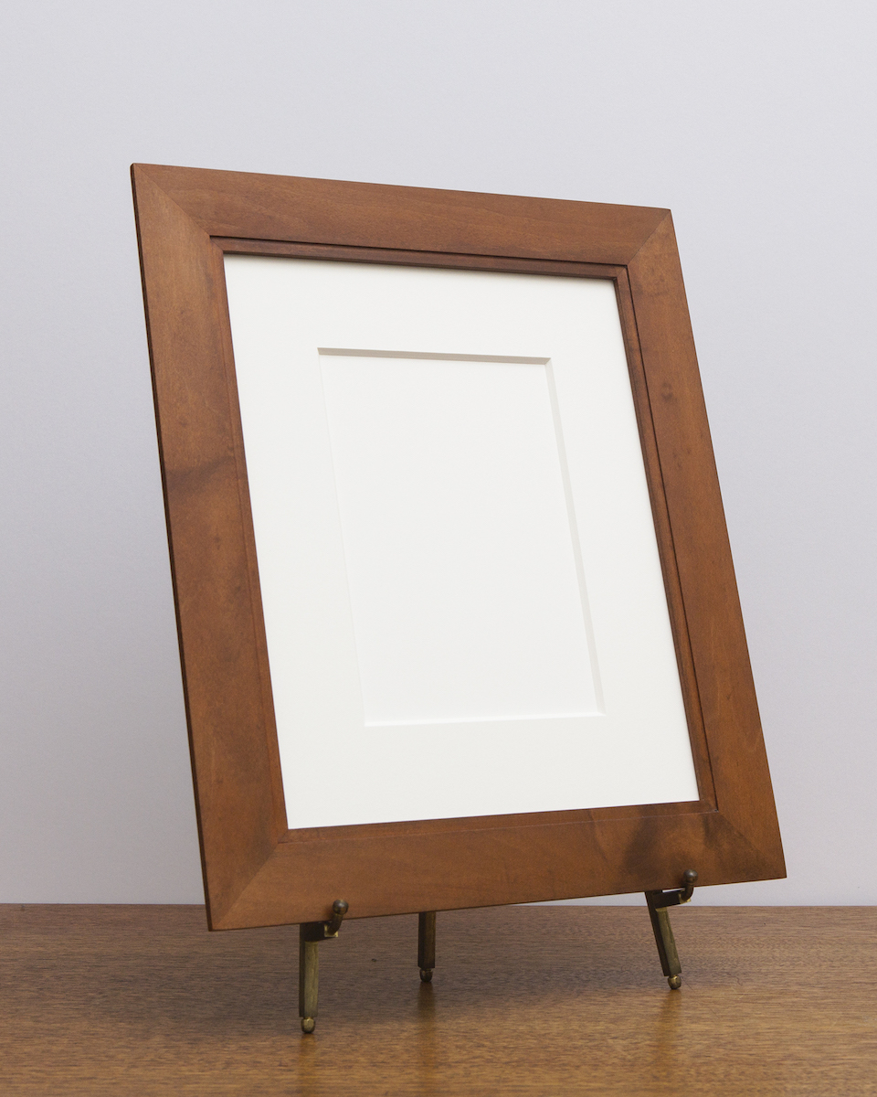 Manhassat Frame in Maple with Sienna Stain
