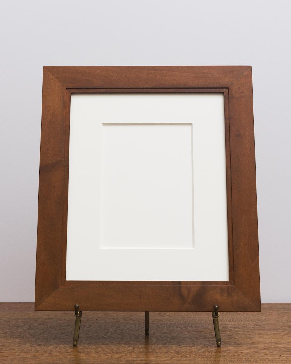 Manhassat Frame in Maple with Sienna Stain