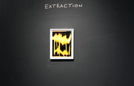 Marco Breuer Exhibition at Von Lintel Gallery Artwork Named Extraction