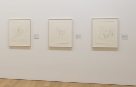 Three Drawings at Monet / Kelly Exhibition