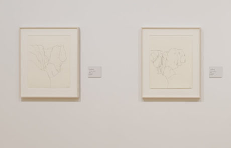 Monet / Kelly Exhibition - Two Drawings