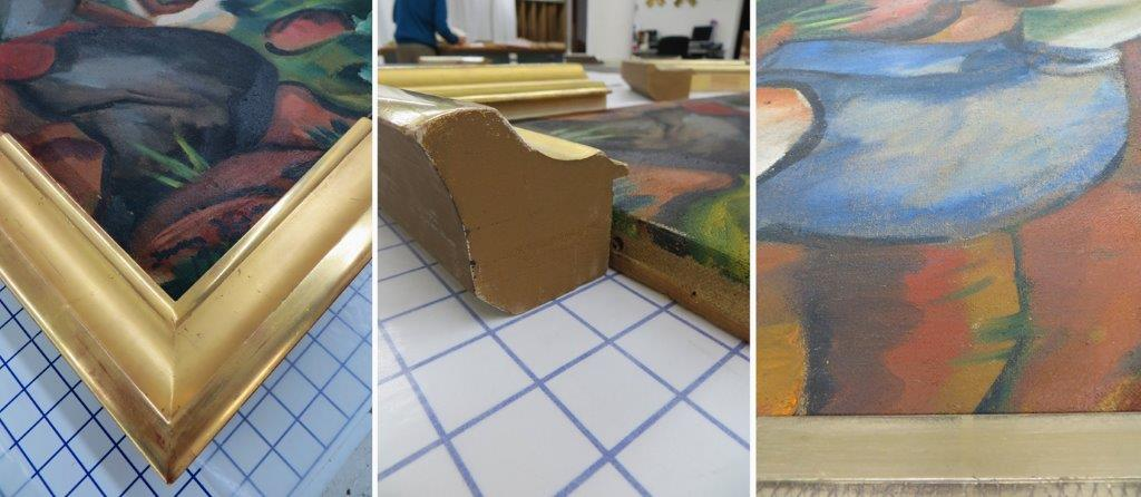 New Frame Design for Irma Stern Painting