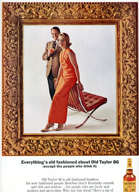 Old Fashioned Frame on Old Taylor 86 Advertisement