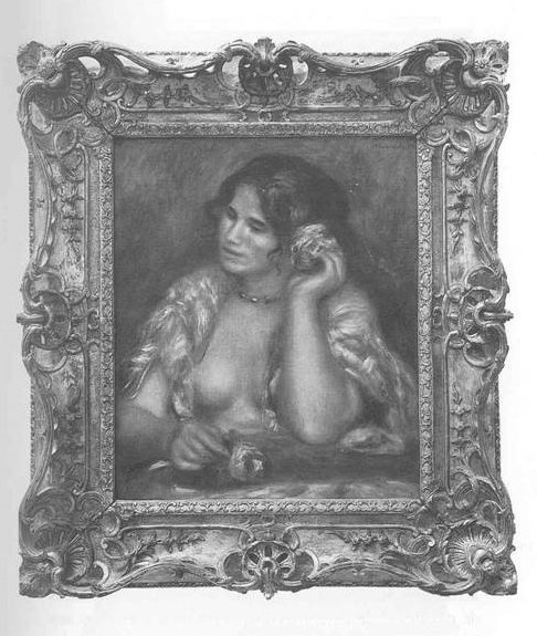 Renoir Painting of a Woman