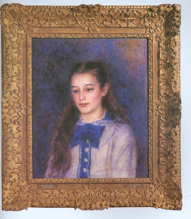 Renoir Painting of a Girl