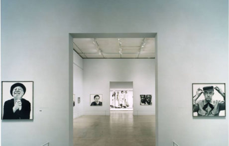 Richard Avedon Exhibition at the Met with Multiple Rooms of Large Portraits