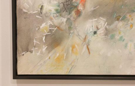 Roberto Matta Exhibition at Pace Gallery Close Up Frame Bottom Left Corner