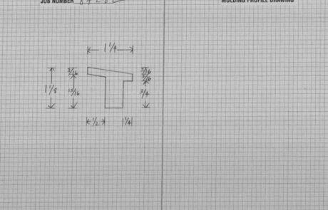 Shop Drawing for Warhol Frames