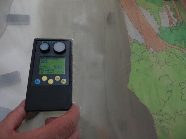 Measuring UV Values