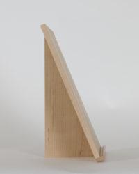 Thinback Maple Table Easel Side Profile