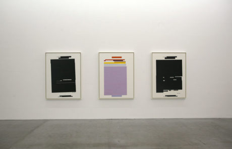 Jenny Holzer Exhibition of Three Works of Art at Galerie Yvon Lambert