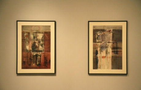 Two Rothko Works of Art at Pace Gallery