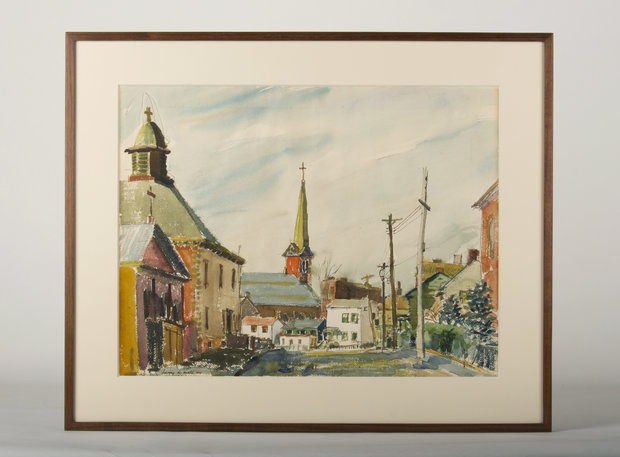 Watercolor in New Frame