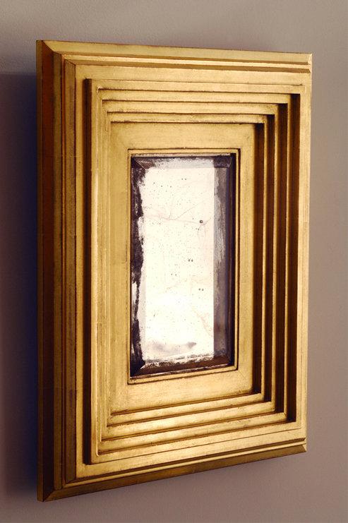 Bark Frameworks Framed Mirror Based on Degas Frame Profile Sketch