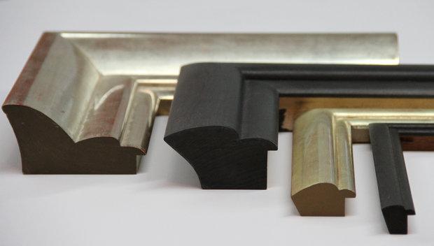 Three Bark Frameworks Frame Samples in Profile