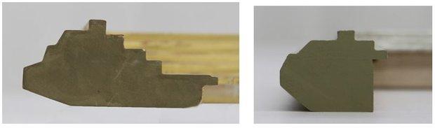 Two Different Degas Frame Profiles