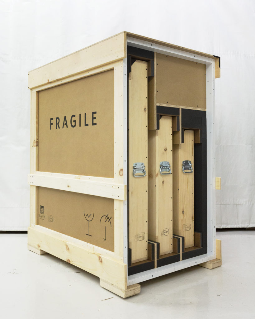Crate with Travel Crates Inside
